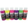 Createx Airbrush Fluorescent 6-Color Set