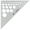 "Lance 10"" Aluminum Triangle 45/90"