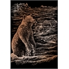 Engraving Art Set Copper Foil Grizzly Bears