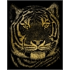 Royal & Langnickel Engraving Art Set Gold Foil Bengal Tiger