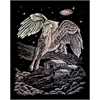 Engraving Art Set Holographic Foil Pegasus
