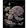 Engraving Art Set Holographic Foil Sea Turtle