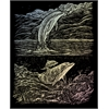 Royal & Langnickel Engraving Art Set Holographic Foil Dolphin Cove