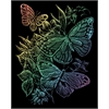 Royal & Langnickel Engraving Art Set Rainbow Foil Butterflies
