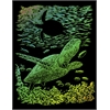 Royal & Langnickel Engraving Art Set Rainbow Foil Sea Turtle