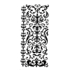Dazzles Stickers Black Swirl Flourish