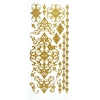 Stickers Gold Flourish