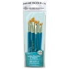 Royal & Langnickel 9100 Series  Zip N' Close Teal Blue 8-Piece Brush Set 15