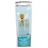 Royal & Langnickel 9100 Series  Zip N' Close Teal Blue 7-Piece Brush Set 4