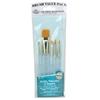 Royal & Langnickel 9100 Series  Zip N' Close Teal Blue 7-Piece Brush Set 4