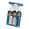 Snazaroo Face Painting 6-Stick Boy Set