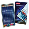 Derwent Watercolor Pencil 12-Color Tin Set