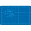 Alvin HM Series Blue/Gray Self-Healing Hobby Mat 3 1/2 x 5 1/2