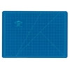 Alvin HM Series Blue/Gray Self-Healing Hobby Mat 8 1/2 x 12