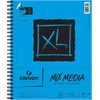 "Canson XL 9"" x 12"" Wire Bound Mix Media Pad"