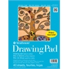 "9"" x 12"" Tape Bound Drawing Paper Pad"