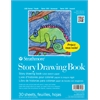 "Strathmore 100 Series 8 1/2"" x 11"" Wire Bound Story Drawing Book"