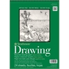 "11"" x 14"" Wire Bound Recycled Drawing Pad"