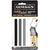 General's MultiPastel Compressed Sticks Grey Tones