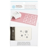 Martha Stewart Crafts Pattern Punch All Over The Page Magnetic Punch Flower Shower