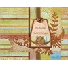 Dazzles Stickers Copper Fern