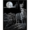Royal & Langnickel Engraving Art Set Silver Wolf Moon