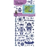 Dazzles Stickers Robot/Rocketship