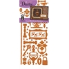 Dazzles Stickers Hardware Copper