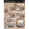 3-D Papier Tole Die Cuts Vintage Journeys