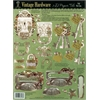 Hot Off the Press 3-D Papier Tole Die Cuts Vintage Hardware