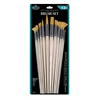 Royal & Langnickel Gold Taklon Combo Brush Set