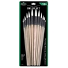 Royal & Langnickel White Taklon Round Brush Set