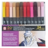 Koi Coloring Brush Pen 24-Color Set