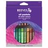 Reeves Large Oil Pastel 24-Color Set