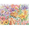 Reeves Large Colored Pencil By Numbers Floral Montage