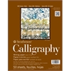 "Strathmore 400 Series 8.5"" x 11"" Tape Bound Calligraphy Pad"
