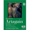 "Strathmore Artagain 400 Series 9"" x 12"" Coal Black Glue Bound Pad"