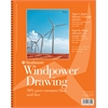"Strathmore Windpower 9"" x 12"" Medium Surface Wire Bound Drawing Pad"