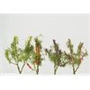 Architectural Model Flower Trees Multicolor 8-Pack