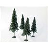 Architectural Model Pine Trees 4-Pack