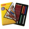 Pastel Pencil 12-Color Collection Tin Set
