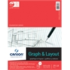 "Canson Foundation Series 8..5"" x 11"" Graph and Layout Sheet Pad"