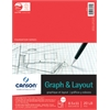 "8.5"" x 11"" Graph and Layout Sheet Pad"