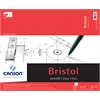 "Canson Foundation Series 14"" x 17"" Foundation Bristol Sheet Pad"