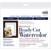 "Strathmore 500 Series 8"" x 10"" Cold Press Ready Cut Watercolor Sheet Pack"