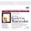 "8"" x 10"" Hot Press Ready Cut Watercolor Sheet Pack"