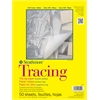 "Strathmore 300 Series 9"" x 12"" Tape Bound Tracing Pad"