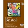 "Strathmore 400 Series 9"" x 12"" 2-Ply Vellum Tape Bound Bristol Pad"