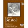 """9"""" x 12"""" 2-Ply Smooth Tape Bound Bristol Pad"""