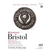 Strathmore 500 Series 11 x 14 2-Ply Plate Tape Bound Bristol Pad